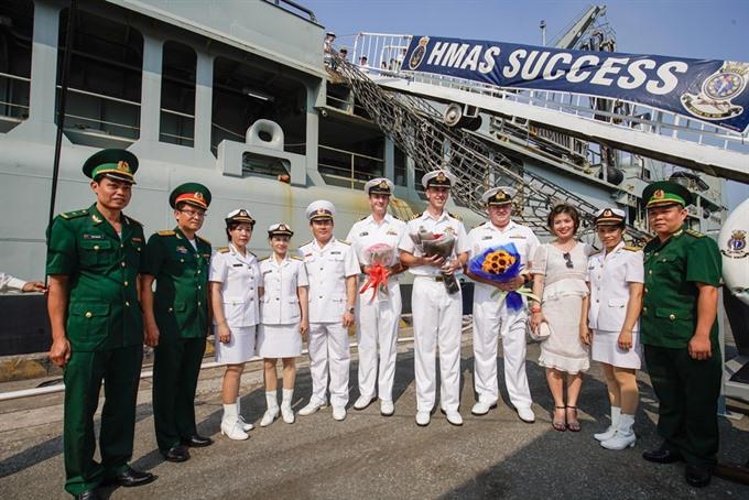Royal Australian Navy warships visit HCM City