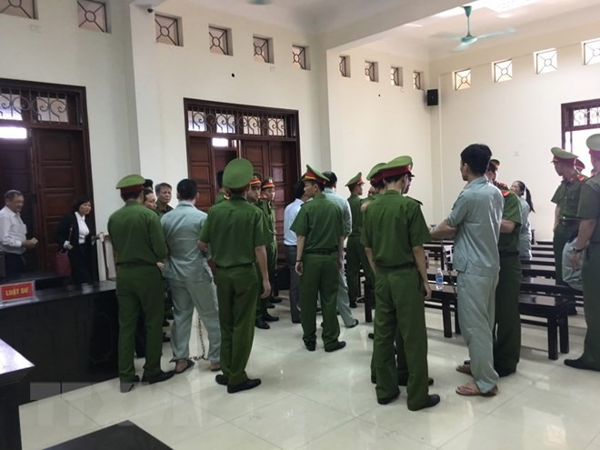 Drug traffickers receive death sentence