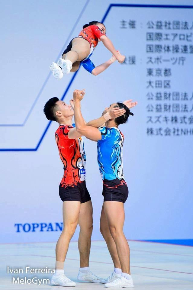 Việt Nam grab gold at aerobics World Cup