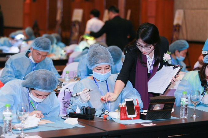 Contest gives beauty artists chance to upgrade skills