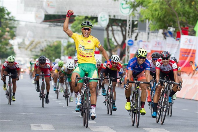Tân wins stage still leads cycling tournament