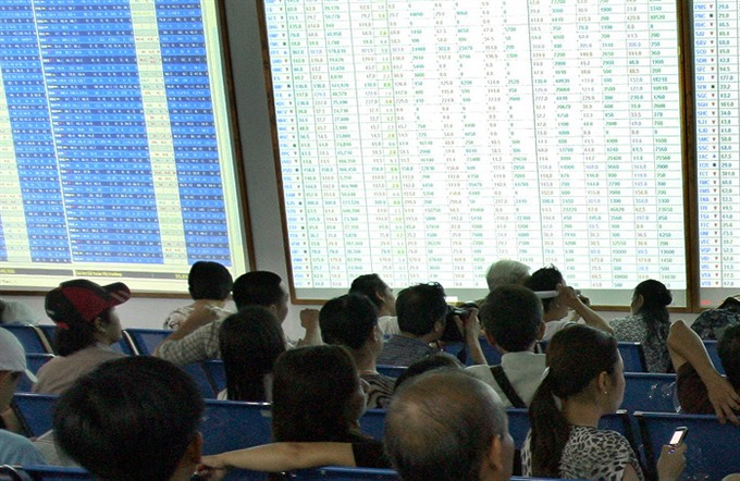 Shares fall on investor pessimism