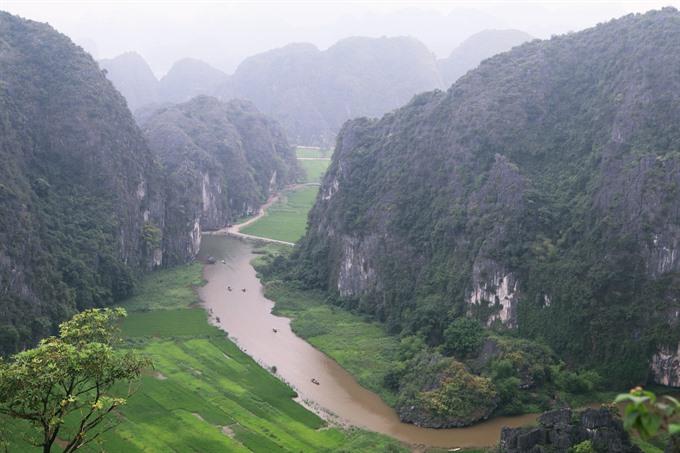 Ninh Bình sleeping beauty has woken up