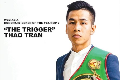 Thảo recognised as Asian Boxer of Year