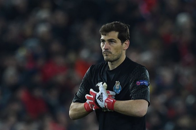 Casillas makes 1000th appearance in Porto loss