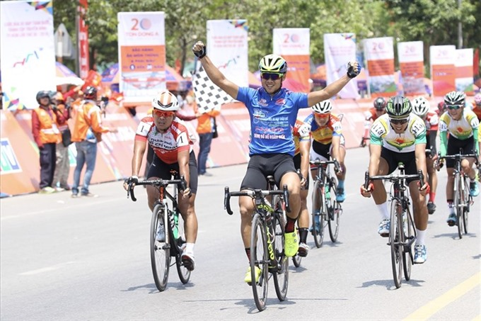 Minh win stage Tùng wins yellow jersey