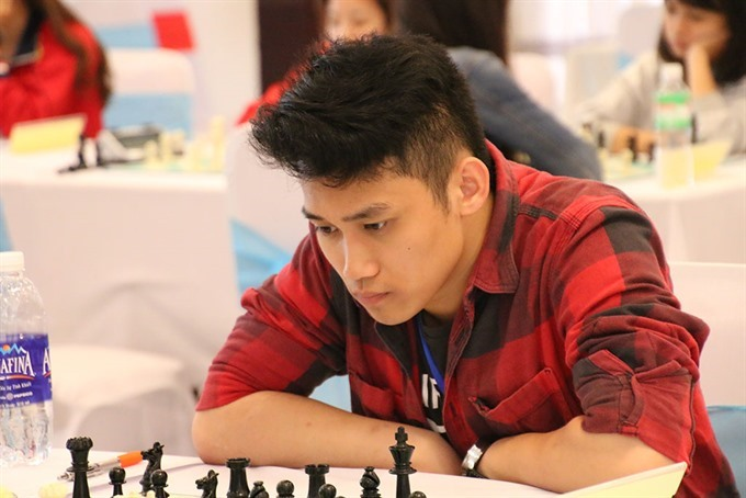 Thắng wins gold medal at Asian youth chess champs