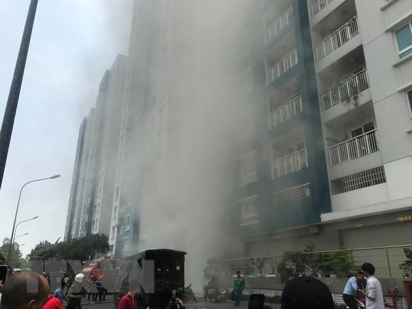 Ministries to examine fire safety in high-rise buildings