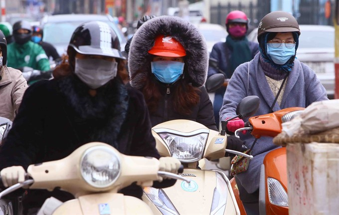 Cold wave hits northern Việt Nam