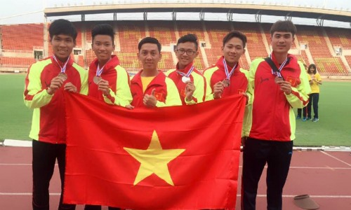 Việt Nam rank second at SEA athletics championships