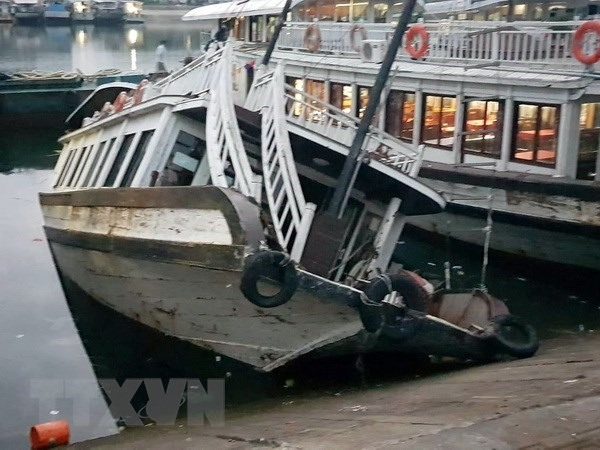 Four Quảng Ninh-based cruises suspended for safety purposes