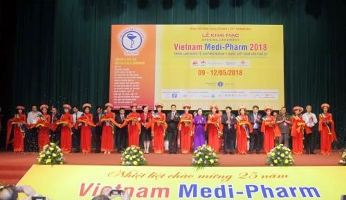 Vietnam Medi-Pharm 2018 attracts 430 firms