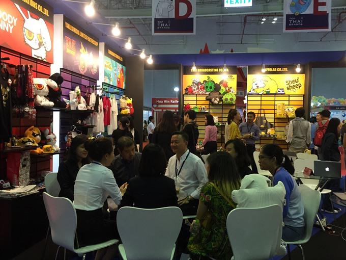 Thai firms eye business opportunities