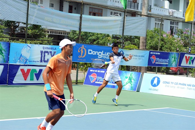 Nam and Phương reach final of VN F2 Futures