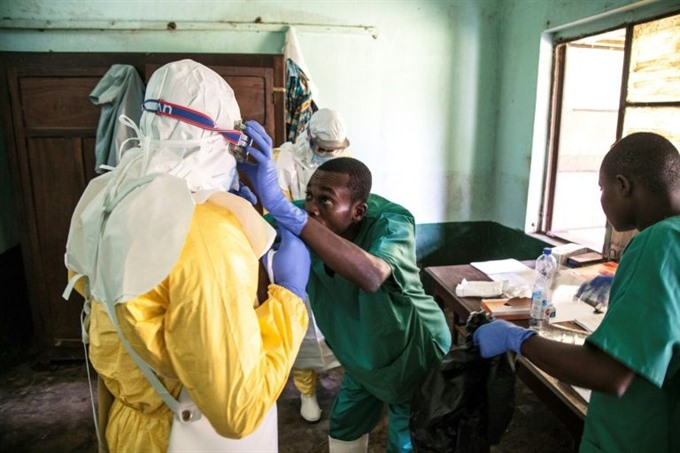WHO reports new Ebola case in DR Congo vaccine this week