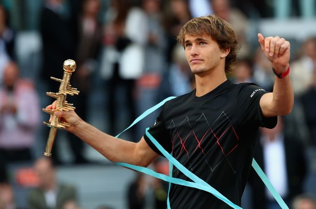Zverev powers past Thiem to win Madrid Masters title