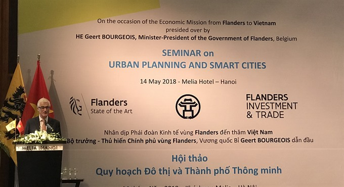 Belgium to support Việt Nam in urban planning
