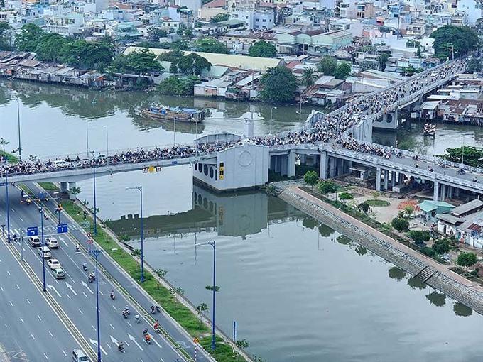 8.2 million to upgrade Y-shaped Bridge in HCM City