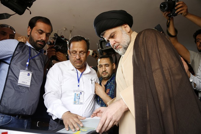 Iraq rivals jostle for power after cleric Sadrs shock win