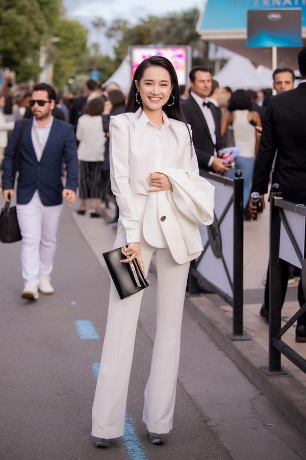 Nhã Phương debuts in Cannes as producer