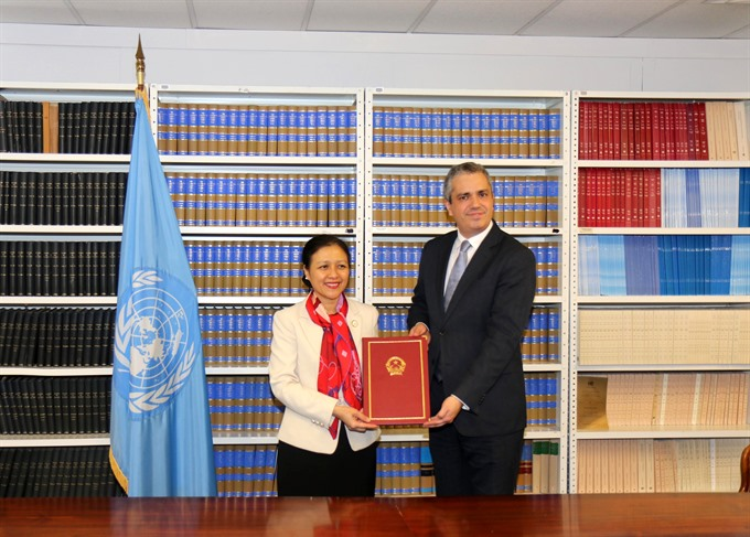 Việt Nam ratifies Treaty on the Prohibition of Nuclear Weapons