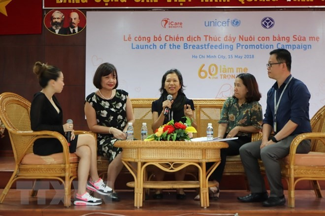 Breastfeeding promotion campaign launched in HCM City