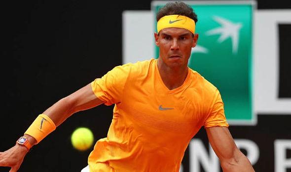 Nadal eases past Shapovalov Djokovic back challenging in Rome