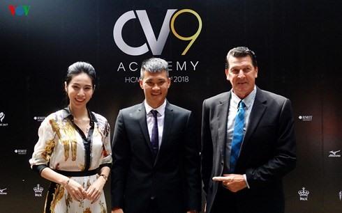 CV9 Academy opens in HCM City