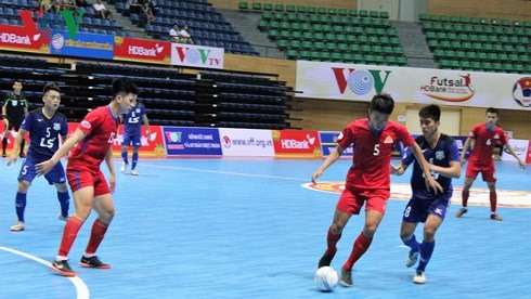 Cao Bằng beat Thái Sơn Nam at national futsal champs