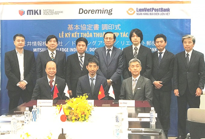 LienVietPostBank co-operates with Japanese partners