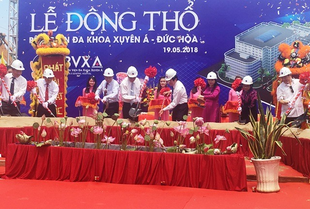 Work on new hospital starts in Long An