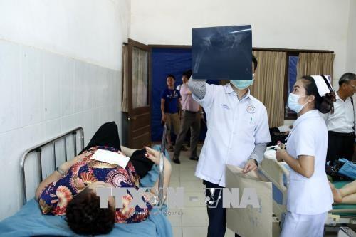 14 overseas Vietnamese injured in bus accident in Laos