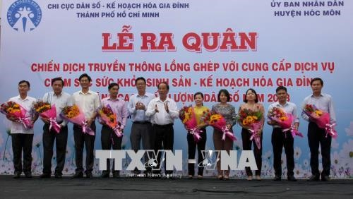 HCM City launches birth control reproductive healthcare campaign