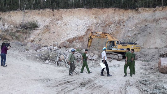 Illegal mineral exploitation challenge for island authority