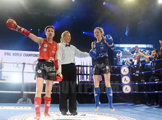 Việt Nam bags silvers at world muaythai event