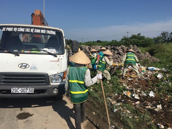 Illegal dumping plagues Hà Nội