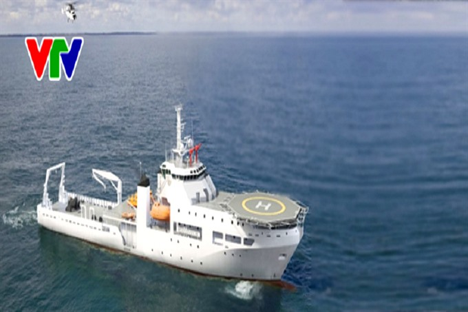 Việt Nam starts building its first submarine rescue ship