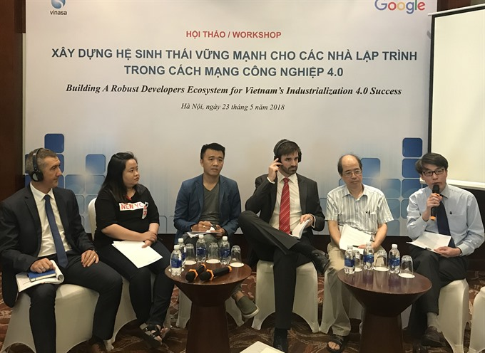 Firms call for improvements in Vietnamese IT ecosystem
