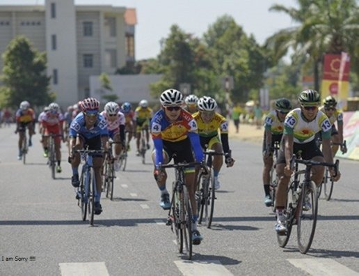 Tâm wins fourth stage of Bình Dương cycling event
