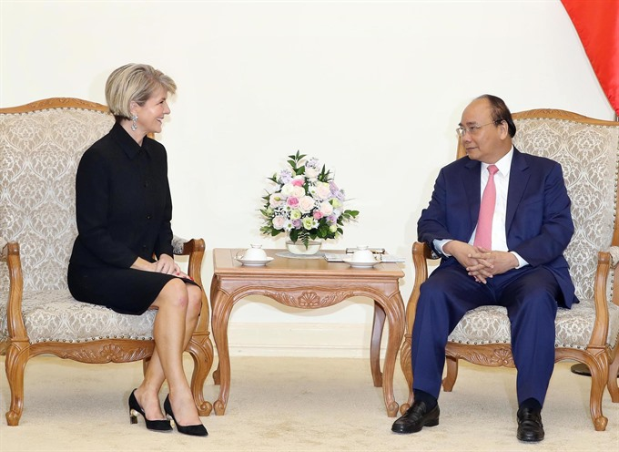 First VN-Australia Foreign Ministers open