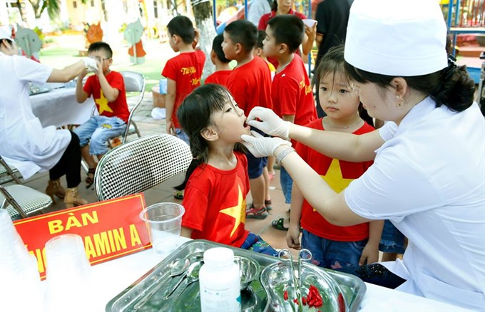 Children and mothers to receive Vitamin A supplements