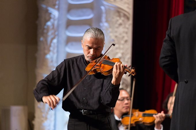 Vietnamese-French violinist to perform at Opera House