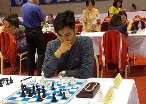 Tuấn Trâm win national chess titles