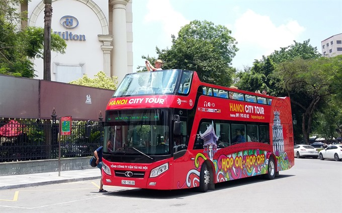 Hà Nội launches new city tour bus service
