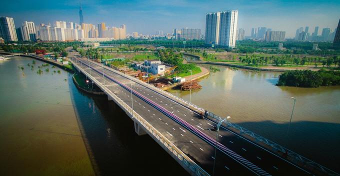 HCM Citys District 2 gets new bridge