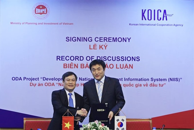 South Korea helps VN develop investment information system