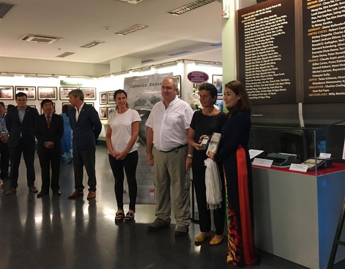 Museum honours Argentine reporter