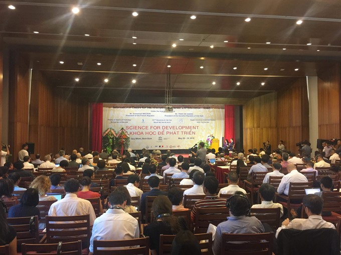 Scientists gather to discuss sustainable development