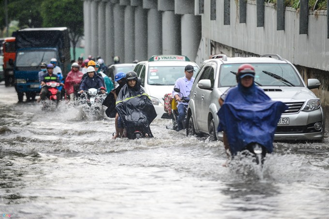 HCM City takes measures to combat floods