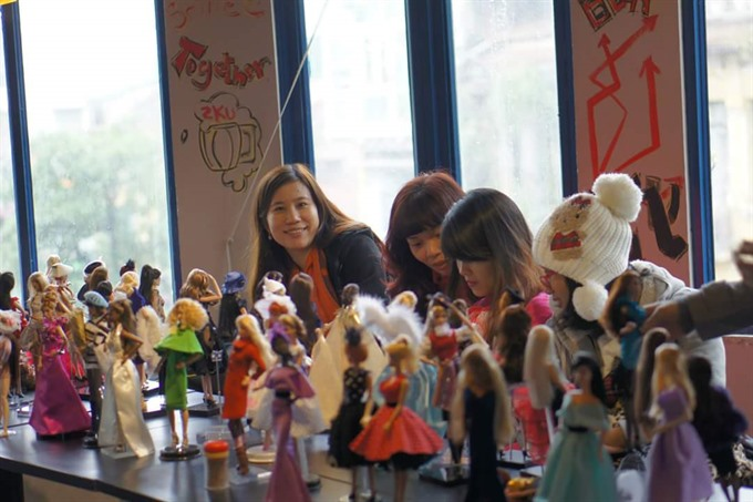 Designing homes chasing dolls